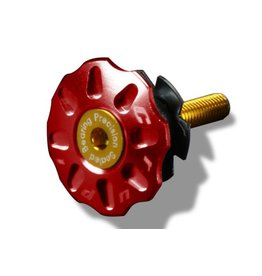 Crupi Crupi Headset Top Cap 1-1/8 Red