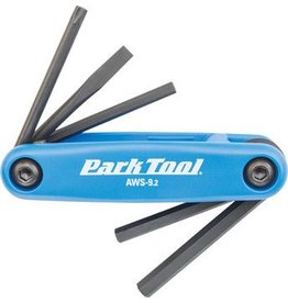 Park Tool Park Tool AWS-9.2 Fold-Up Hex Wrench Set (4mm, 5mm, & 6mm)