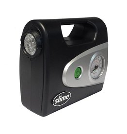 Slime Slime Air Inflator Pump 12V w/Gauge and Light