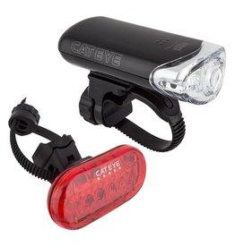 CatEye Cateye HL-EL140, and TL-LD155R, Combo Light Kit Black