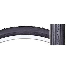 26x1-3/8 Sunlite Tire Black Road K40