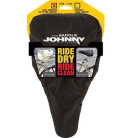 White Lightning White Lightning Saddle Johnny Seat Cover, Black