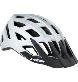 Lazer Lazer Roller Helmet: Matte White/Silver MD