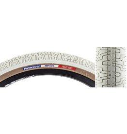Panaracer 20x1.75 Panaracer Tire HP406 Wire bead White w/Skinwalls