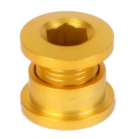 Origin8 Origin8 Chainring Bolt Set (5) Single speed Gold