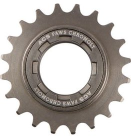 "ACS ACS PAWS Freewheel: 20t, 3/32"", Gun Metal"