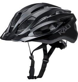 Kali Protectives Kali Alchemy Helmet: Solid Matte Black Gunmetal LG/XL