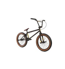 Fit 2018 FIT STR Gloss Black 20 BMX Bike (20TT)