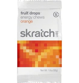 Skratch Labs Skratch Labs Fruit Drops Energy Chews: Orange, Box of 10