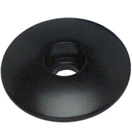 """Problem Solvers Top Cap for Alloy/Chromoly Steerers 1-1/8"""" Black"""