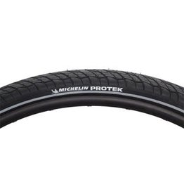 "Michelin 27 x 1-1/4"" Michelin Protek Tire, Black"