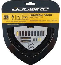 Jagwire Jagwire Universal Sport Shift Cable Kit, Black