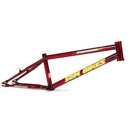S&M S&M 20 inch Speedwagon Frame Trans. Red 21TT