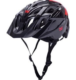 Kali Protectives Kali Protectives Chakra Solo Helmet: Neo Black/Red MD/LG