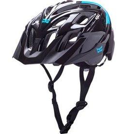 Kali Protectives Kali Protectives Chakra Solo Helmet: Neo Black/Blue MD/LG