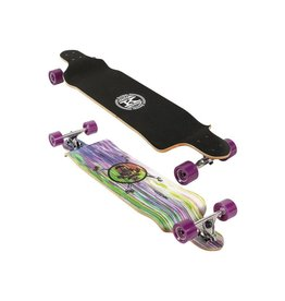 "Karnage Karnage 41"" Drop Down Cruiser Longboard, Purple"