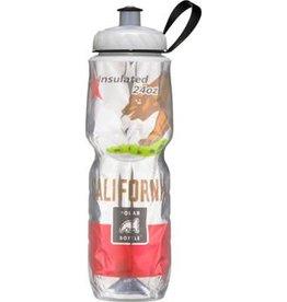 Polar Bottles Polar Insulated Water Bottle: 24oz, California State Flag