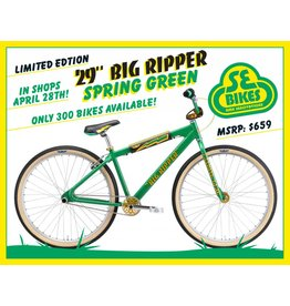 SE 2018 Big Ripper 29 Spring Green