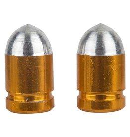 Trik Topz Trik Topz Valve Caps Presta Bullet Gold 1pr