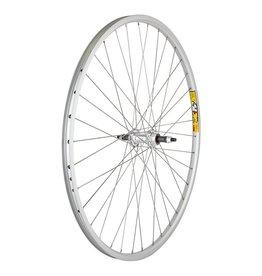 700x35 (622x19) Weinmann ZAC19 36h Alloy Freewheel 5/6/7spd Bolt-On Silver 135mm