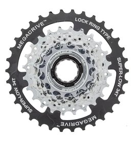 Sunrace 7 Spd Freewheel 13-34T Index