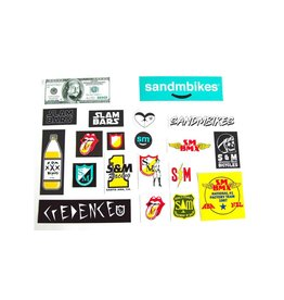 S&M S&M ASSORTED 20 STICKER PACK