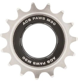 "ACS ACS PAWS M30 Freewheel, 15T 3/32"", Nickel"
