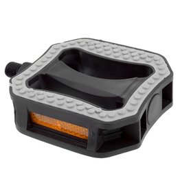 Sunlite Platform Nylon Pedals Grip'R Top 1/2 Black