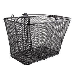 Sunlite Mesh Lift-Off Front Basket Black 14.5x8.5x7 w/Bracket