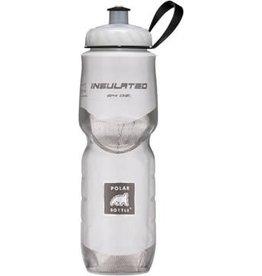 Polar Bottles Polar Insulated Water Bottle: 24oz, White