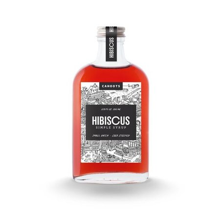 Cahoots HIBISCUS syrup