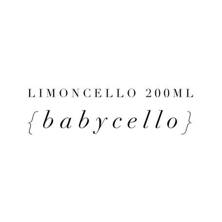 Limoncello 200ml