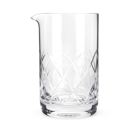 Large Crystal Mixing Glass