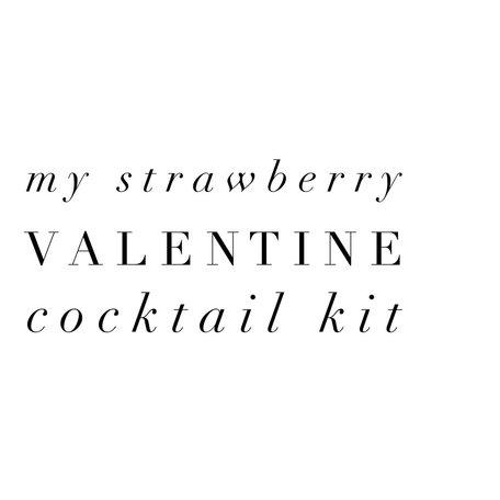 My Strawberry Valentine Kit