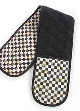 Mackenzie-Childs Courtly Check Double Oven Mitt