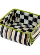 Mackenzie-Childs Courtly Check Biscuit Basket