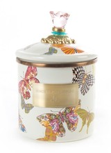Mackenzie-Childs Let your kitchen take flight! Butterfly Garden Enamelware features a colorful flutter of hand-applied butterflies.