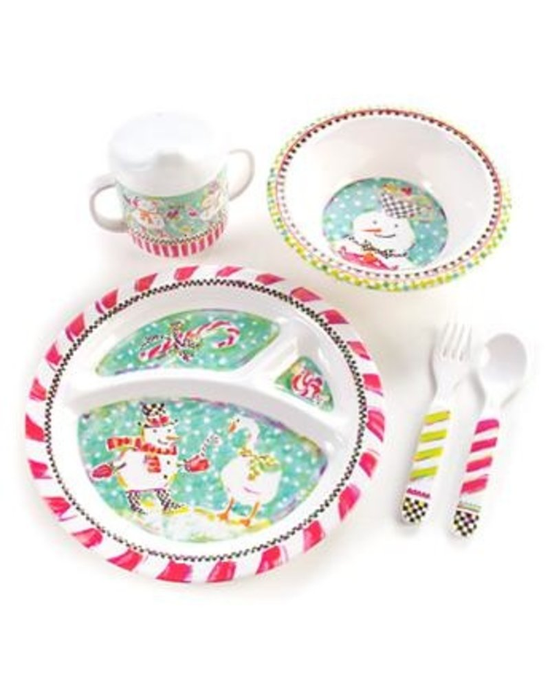 Mackenzie-Childs Toddler Dinnerware Set Tender Tidings  sc 1 st  LG Gallery : mackenzie dinnerware - pezcame.com