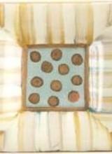 Mackenzie-Childs Parchment Stripe Knob