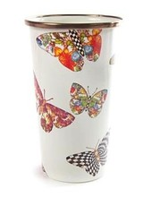Mackenzie-Childs Butterfly Garden Tumbler