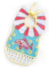 Mackenzie-Childs Happy Fish Toddler's Bib