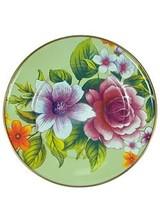 Mackenzie-Childs Flower Market Green Salad/Dessert Plate