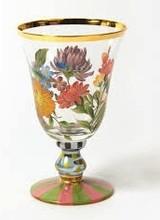 Mackenzie-Childs Flower Market Wine Goblet
