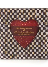 Mackenzie-Childs Courtly Check Heart Frame