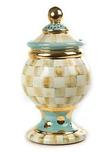 Mackenzie-Childs Parchment Globe Ceramic Canister