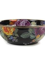Mackenzie-Childs Flower Market Everyday Bowl - Black