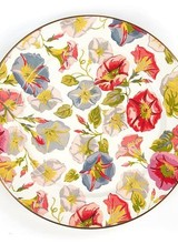 Mackenzie-Childs Morning Glory Charger/Plate