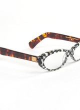 Mackenzie-Childs Courtly Check Cat Eye Readers X2.0