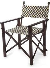 Mackenzie-Childs Courtly Check Directors Chair