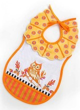 Mackenzie-Childs Toddler Bib - Owl
